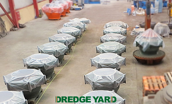 Wide range of dredge ball joints introduced by Dredge Yard