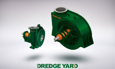 Developing the largest size dredge pump in dredging industry