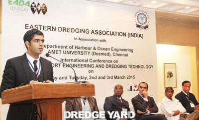 Dredge Yard at International Conference of EADA in India