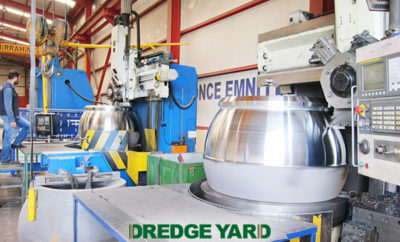 Dredge Yard expands its fabrication capacity