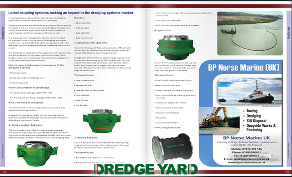 Dredge Yard interview in Dockyard Magazine