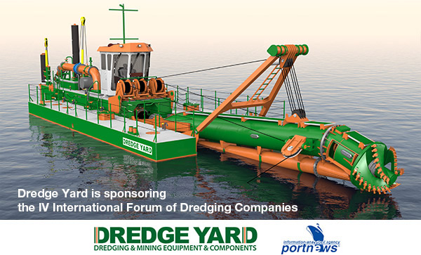 Dredge Yard sponsors IV International Forum of Dredging Companies