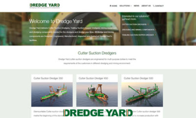 Dredge Yard launched its new website