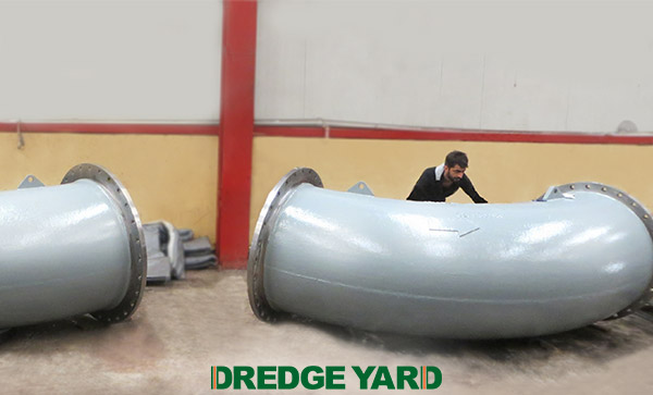 Dredge Yard launches various dredge pipe pieces