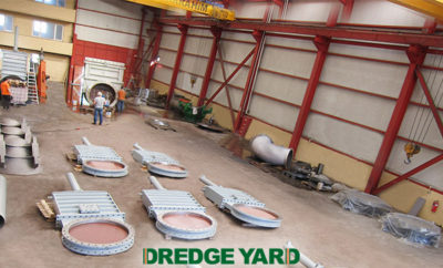 Dredge Yard supplies large dredge valves to Van Oord