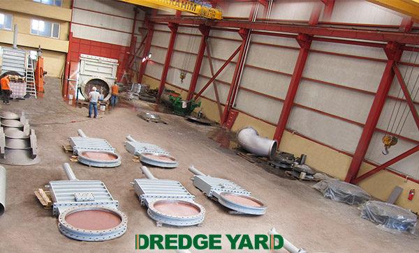 Dredge Yard supplies large dredge valves to Van Oord