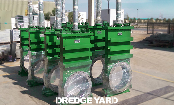 Dredge valves lauched by Dredge Yard