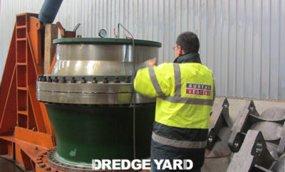 Dredge Yard develops new design for water ball joint