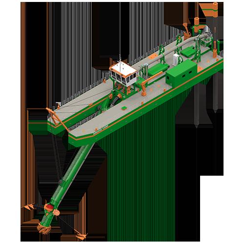 cutter suction dredger 650