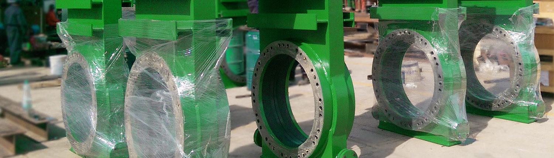 Dredge Yard dredge valves