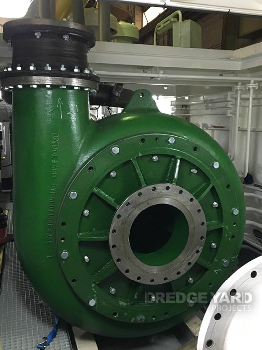 Euro Dredger Pump