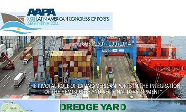 Dredge Yard in Latin American Congress of Ports