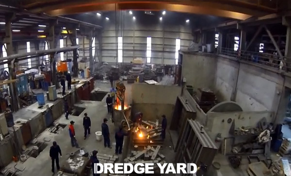 Dredge Yard production facility in Turkey