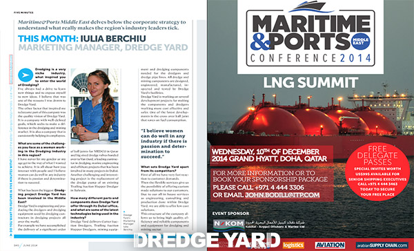 Dredge Yard's marketing manager interview