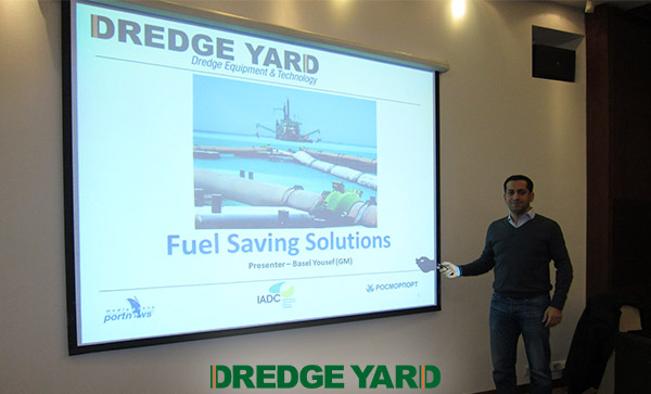 Dredge Yard at the 2nd International Forum Of Dredging Companies