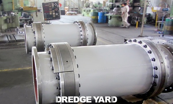 Dredge Yard delivered turning glands for several TSHD's