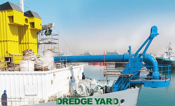Dredge Yard delivers equipment for upgrading TSHD's