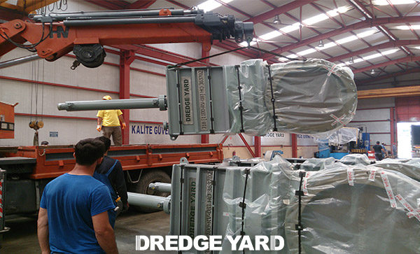 Dredge valve production by Dredge Yard