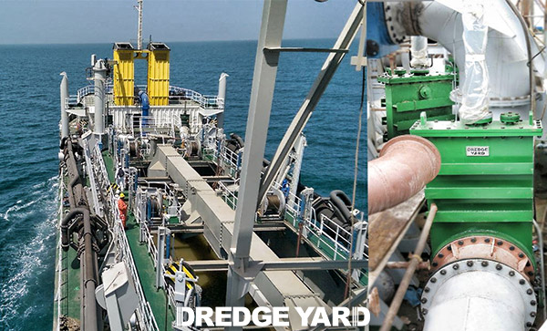 dredger gate valves