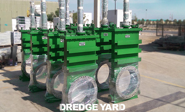 Dredge valves