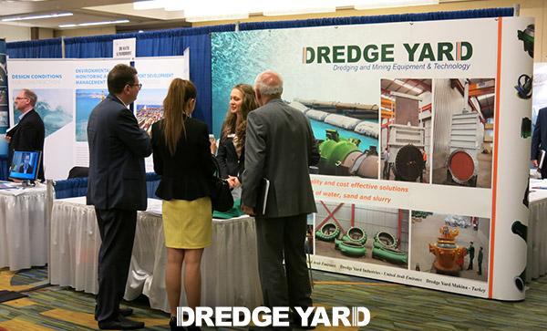 Dredge Yard at Summit & Expo 2014 of WEDA