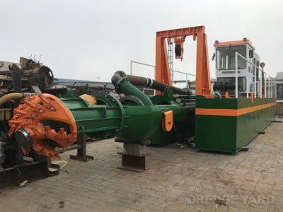 Cutter Suction Dredger 200 under construction