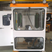 Dredger 200 operating cabin