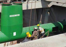 Dredge Yard TSHD dredging system