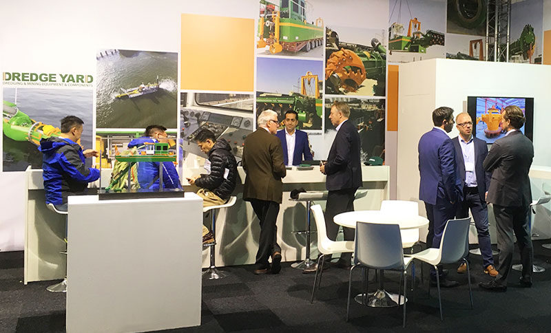 Dredge Yard presents new ECO dredgers at Europort17