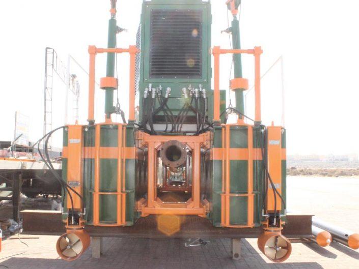 ECO 300 Cutter Suction Dredger propulsion