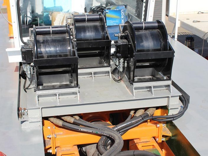 ECO 300 Cutter Suction Dredger winches