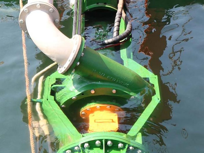 ECO300 Cutter Suction Dredger submersible pump - Dredge Yard