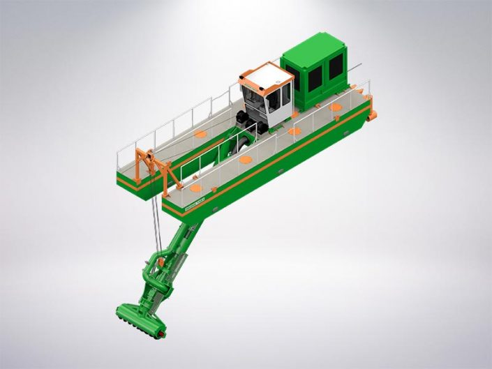ECO Auger Dredger - Dredge Yard
