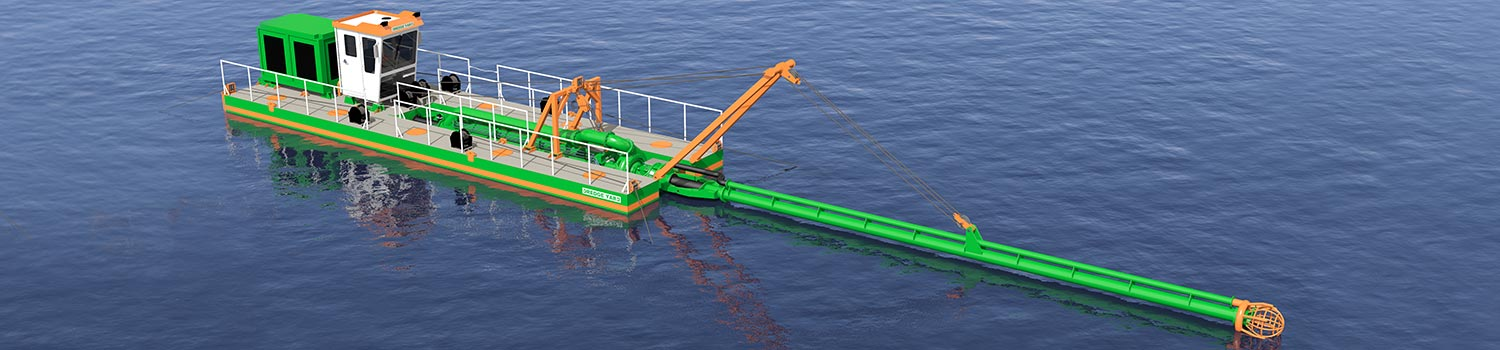 Plain Suction Dredger 200