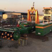 Auger Dredger ECO 250 assembly - Dredge Yard