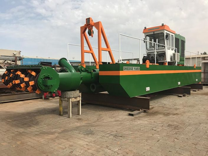 Auger Dredger 300 assembly