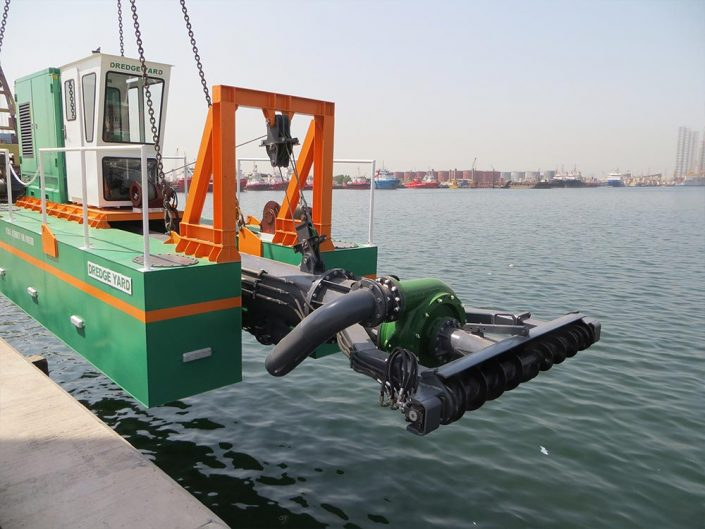 Auger Dredger 200 launch