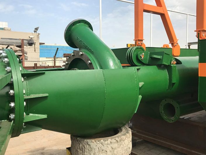 Auger Dredger 250 submersible pump