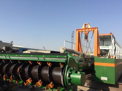 Auger Dredger ECO 200 auger head - Dredge Yard