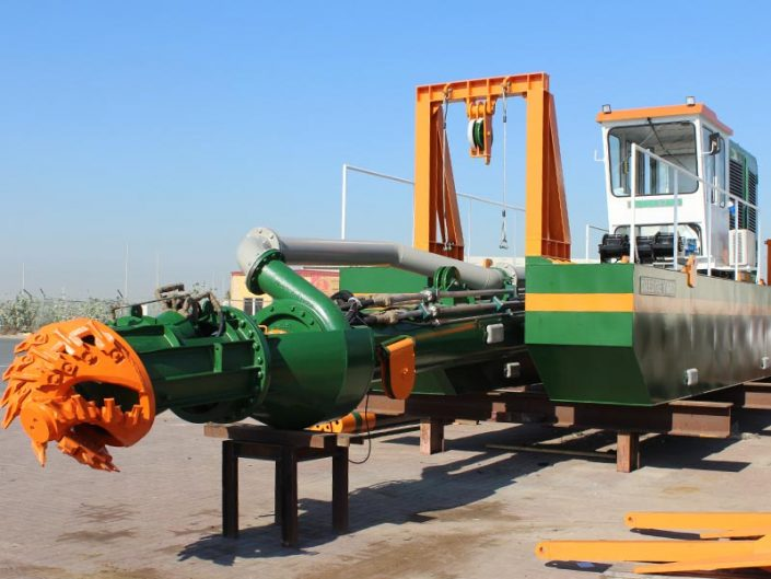 Cutter Suction Dredger ECO 300 cutter head - Dredge Yard