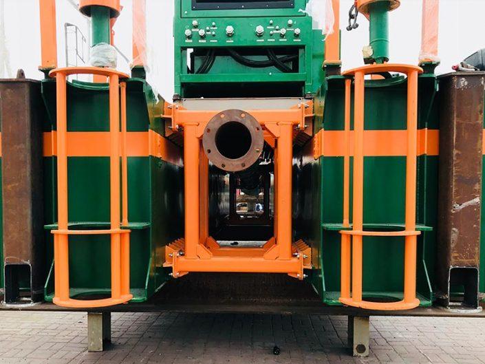 Cutter Suction Dredger ECO 200 back - Dredge Yard