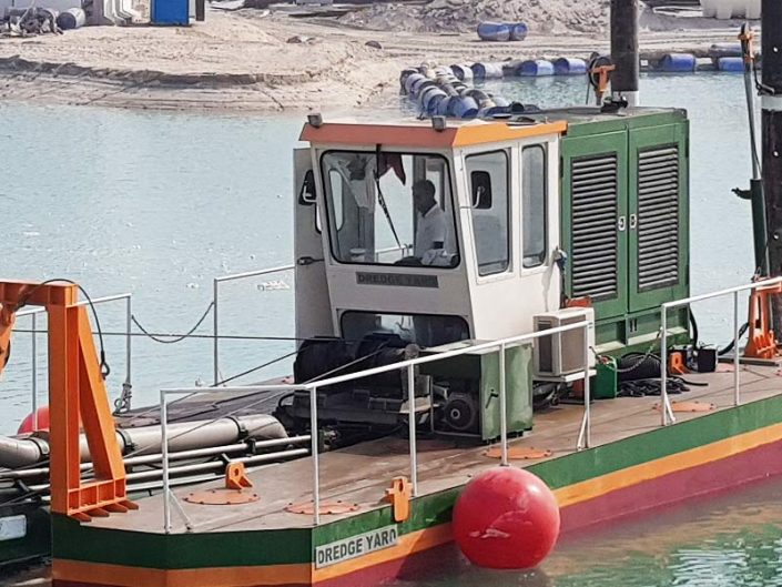 Cutter Suction Dredger ECO 200 control cabin - Dredge Yard
