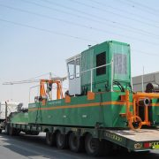 Cutter Suction Dredger 200 transport