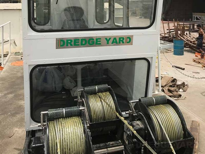 Cutter Suction Dredger ECO 200 winches - Dredge Yard