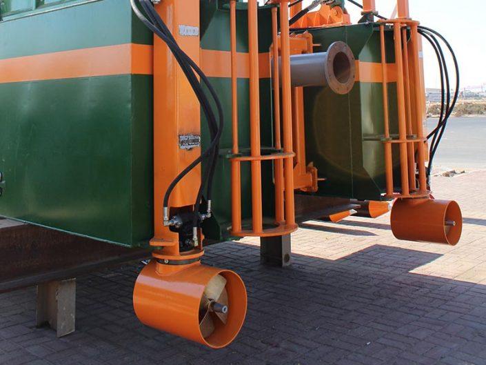 Cutter Suction Dredger ECO 250 propulsion - Dredge Yard