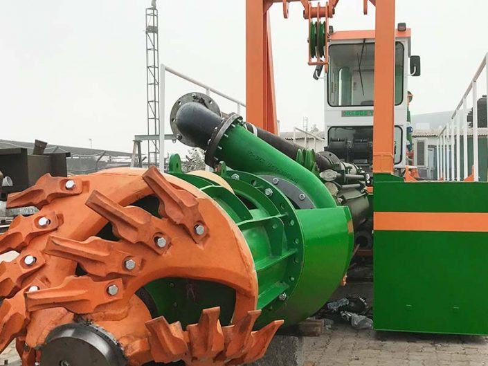 Cutter Suction Dredger ECO 250 cutter head - Dredge Yard