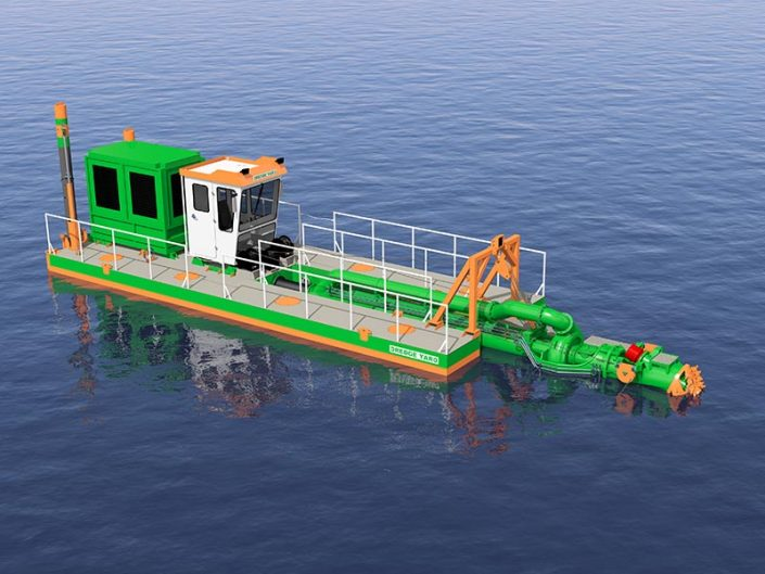 Cutter Suction Dredger design - Dredge Yard