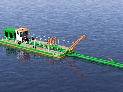 Plain Suction Dredger 200 design