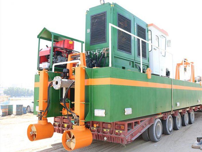 Plain Suction Dredger: Transport ECO 200 - Dredge Yard