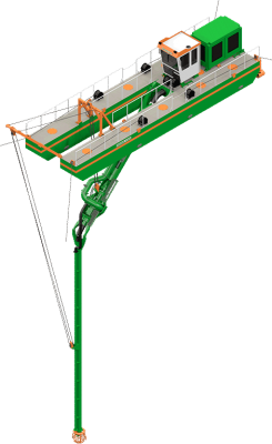 Plain Suction Dredger - Dredge Yard